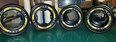 Yamaha Raptor 700R SE YFZ 450R Rims Decals Stickers Replica Front /& Back 2017