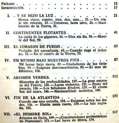 El Planeta Incognito - Peter Kolosimo  - Plaza & Janés 1976 - Ver Indice