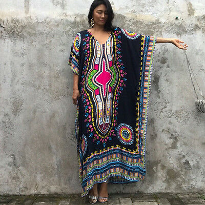 b6d298766c2 ... Dashiki Dress Plus Size Traditional Maxi Dresses African Clothing  Womens Tribal 6