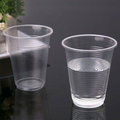 OFFR 7oz CLEAR Plastic Cups Disposable //wedding//Party x3000pcs CHEAPEST ON