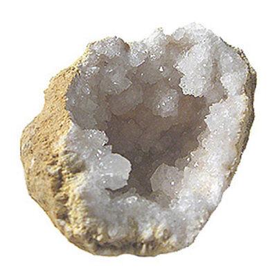 "20 Break Crack Open Your Own Whole Quartz Geodes W/Gift Bag - 2"" Crystal Rocks 3"
