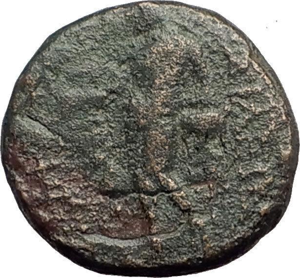 ANTIOCHOS III Megas 222BC RARE R1 Ancient Greek SELEUKID King Coin APOLLO i62605 2