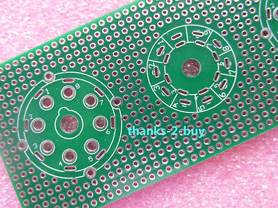 Universal prototype PCB Board for 7pin 8pin 9pin Tube Amplifier Preamp Valve Amp