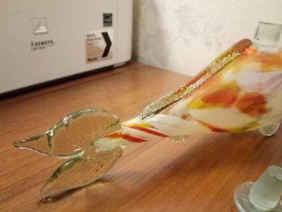 FISH USSR soviet ukrainian russian glass Bottle Decanter carafe pitcher 51m c 8