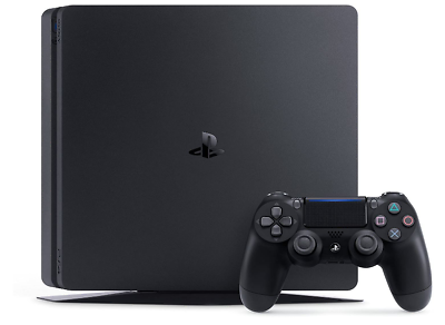 Sony Playstation 4 Slim 500 Gb Jet Black Wi-Fi 3
