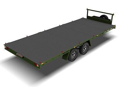 Trailer Plans- 6m FLAT TOP TRAILER PLANS- PRINTED HARDCOPY- Car Trailer, Flatbed 10