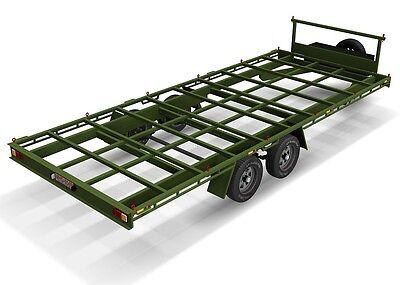 Trailer Plans- 6m FLAT TOP TRAILER PLANS- PRINTED HARDCOPY- Car Trailer, Flatbed 11