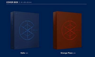 CIX 2nd EP ALBUM HELLO Chapter 2. Hello, Strange Place CD + FOLDED POSTER NEW 4