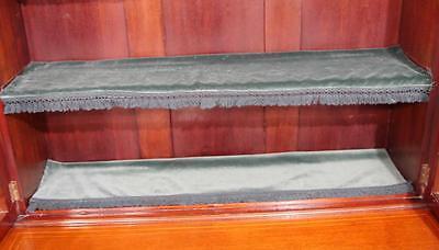 Antique Edwardian Sheraton China Cabinet Bookcase 2