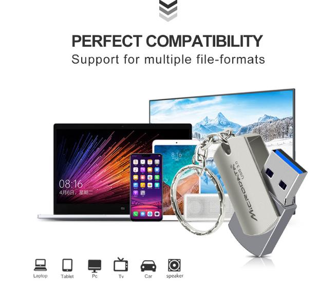 Clé USB 32Go haute vitesse🚀 3.0 usb rotative👍 3