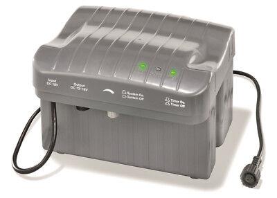 20W LED Solarpumpe Teich Pumpe 750L Akku Batterie Gartenteich Filter Solarmodul