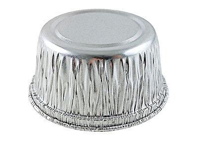 50/PK - 4 oz. Aluminum Foil Muffin/Utility/Ramekin Cups - Disposable Cupcake Tin