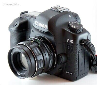 US Seller Helios 44m-4 58mm f2 EXC Old Russian portrait Lens DSLR M42 Mount 44-2 3