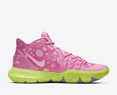low priced 3e901 6a963 NIKE KYRIE IRVING 5 Patrick Lotus Pink Green Spongebob Squarepant Men & Kid  Size