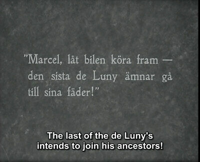 DVD En perfekt gentleman (Vilhem Bryde,1927) Gösta Ekman,Karin Swanström 5