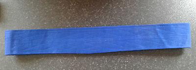 Sikh Nihang Singh Khalsa Adjustable Belt Kamarkasa No Loop Royal Blue Waist Belt 3 • EUR 10,99