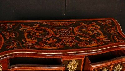 Pair French Empire Cabinets Commodes Chests on Stands Inlay 12