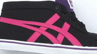 Womens Girls Onitsuka Tiger Renshi Mid Canvas Fashion Trainers Sneakers Size 8