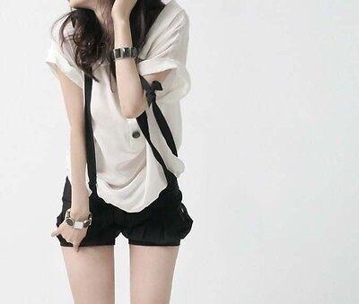 70 Colors Mens Womens Clip-on Suspenders Elastic Y-Shape Adjustable Braces