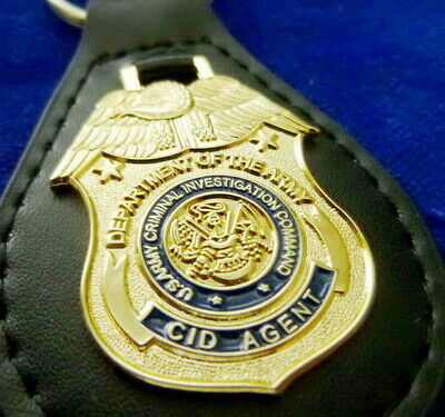 US Army CID Leder Schlüsselanhänger