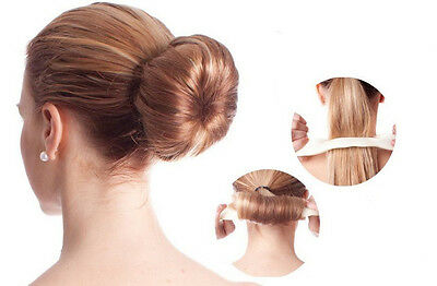 Haargummi Kunsthaar haarknoten Haircuff Haarschmuck Zopf Zopfgummi *