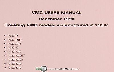 FADAL VMC SERIES, Machining Center, Operation Programming User Manual 1994