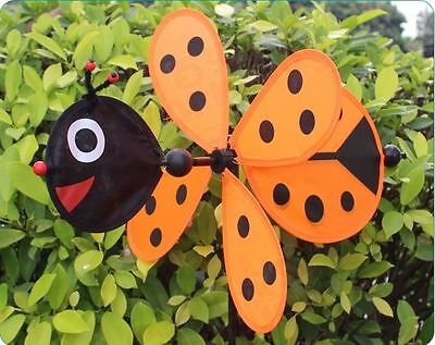 9 Of 11 New Bee Ladybug Garden Yard Outdoor Décor Windmills Wind Spinners  Decoration