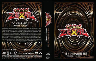 DVD YU GI Oh ! Zexal Episode 1-146 End English Dubbed And Subtitles Anime