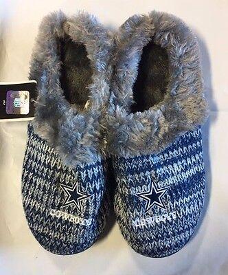 8ff06194d Peak Slide 2 2 of 4 Dallas Cowboys Slippers Logo NEW Womens Slide House  shoes! Peak Slide 3