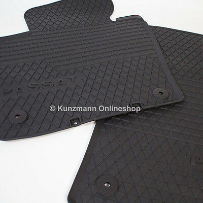 Z331074 SET Kofferraumwanne Gummifußmatten für VW Volkswagen Passat B6 3C Varian