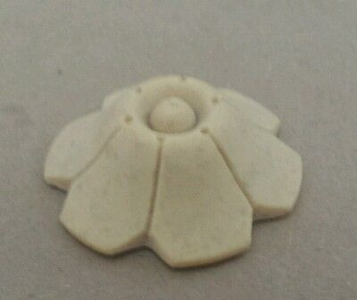 """COMPOSITION/RESIN FURNITURE MOLD!~ SMALL FLOWER ~GREAT DETAIL!  1 3/4"""" diameter 2"""