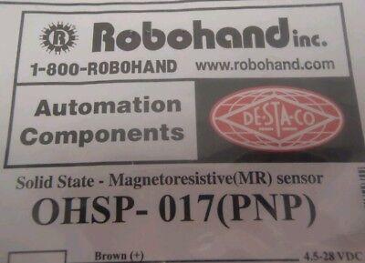 SOLID STATE MR MAGNETORESISTIVE SENSOR ROBOHAND OHSN-006 NPN