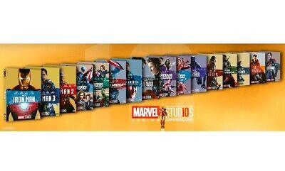 COLLEZIONE 18 FILM MARVEL 10° ANNIVERSARIO (16 BLU-RAY) Seleziona Il Tuo Film 2
