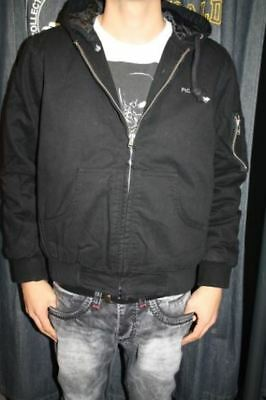 picaldi jacke gladiator hiphop streetwear schwarz eagle adler