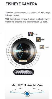 Wifi Video IP Türsprechanlage 2Draht Bus 7 Zoll Videospeicher Kamera 170°