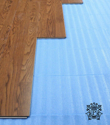 UNDERLAYMENT 3 In 1 Blue Foam Laminate Flooring Combo Foam 3Mm / 200 ...