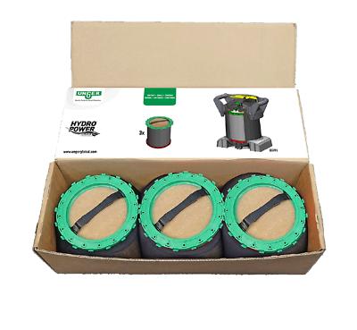 Unger DIUB1 nLite Ultra Harz Packs 3 x Harzbeutel für Filter S | DIUH1 + DIUK1 2