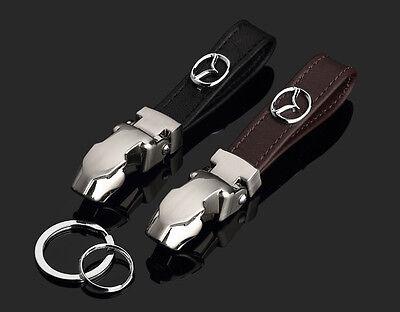 Schwarz Gepard BMW Leder Autoschlüssel Schlüsselanhänger Schmuckanhänger Key
