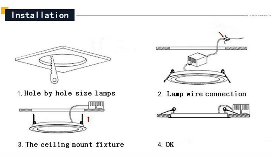 3W 5W 7W 9W 12W 15W 20W COB LED Recessed Ceiling Downlight Spot Light Bulb Kits 10