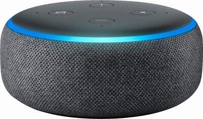 Amazon Echo Dot 3rd Generation w/ Alexa Voice Media Device - Charcoal