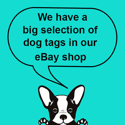Engraved Pet Tags Nickel DOG CAT ID Disc Free P&P Deep Engraving Name Identity 2