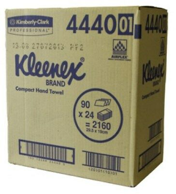 Kleenex 4440 Compact Hand Towel 24 Packs of 90 Towels 4