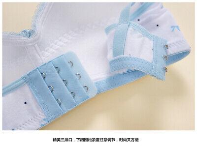 Girls Bra Crop top underwear Adjustable white bras Age 11 12 13 14 15 16 17 yrs 6