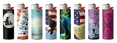 BIC Full Size Limited Special Edition Disposable Lighters Assorted Styles 4