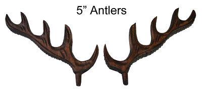New German Made Wood Cuckoo Clock Case Deer Antler- Choose from 4 Sizes! 2