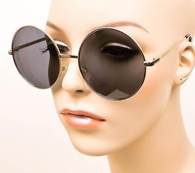 add4eadd643 ... Oversized MALINA XL Large Big Round Indie Metal Frame BOHO Circles  Sunglasses L 5