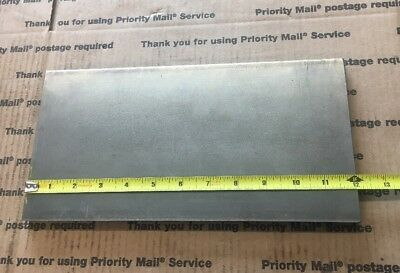 """1/2 X 6 Flat Steel Bar 1018 Machining Cold Rolled 0.500 Smooth Finish 12"""" L 5"""
