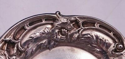 Les Six Fleurs by Reed and Barton Sterling Silver Butter Pat #N478 (#3077) 3