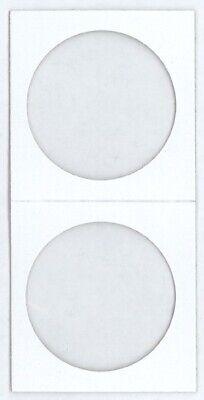 Large Dollar Size 2x2 Coin Cardboard Mylar Flips Holder Bundle of 100 Cowen's US 3