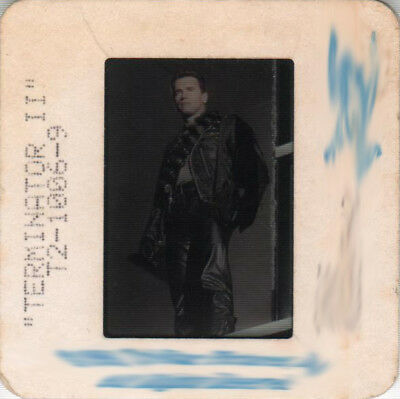 "ARNOLD SCHWARZENEGGER in ''Terminator 2"" - Original 35mm Slide - 1991"